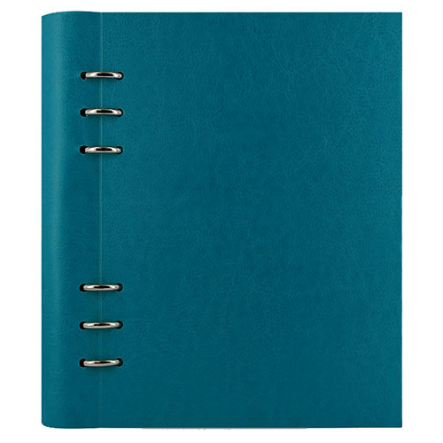 notitieboek Filofax Clipbook A5 Bright Petrol Blue