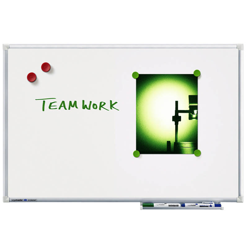 Quantore | whiteboard Quantore     45x60cm magnetisch gelakt staal