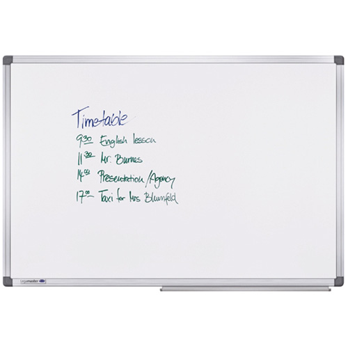 Quantore | whiteboard Quantore     60x90cm magnetisch gelakt staal