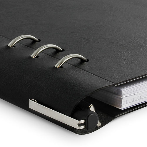 Filofax | notitieboek Filofax Clipbook A5 Black